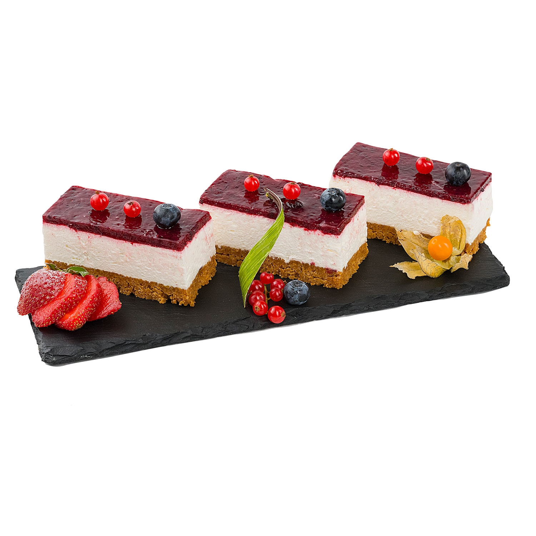 Cheese cake cu fructe de padure 120g