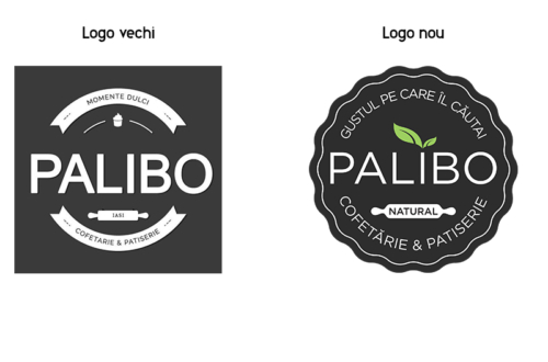 Logo nou | Cofetăria Palibo Iași