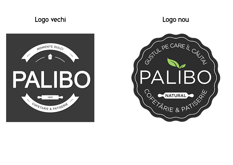 Logo nou   Cofetăria Palibo Iași